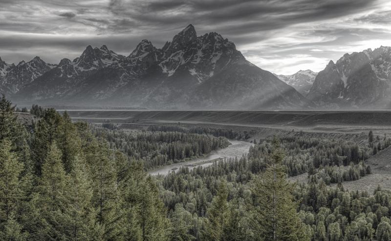 "Today's Photo Of The Day is ""Modern Teton"" by Ryan Moyer. Grand Teton National Park, WY."