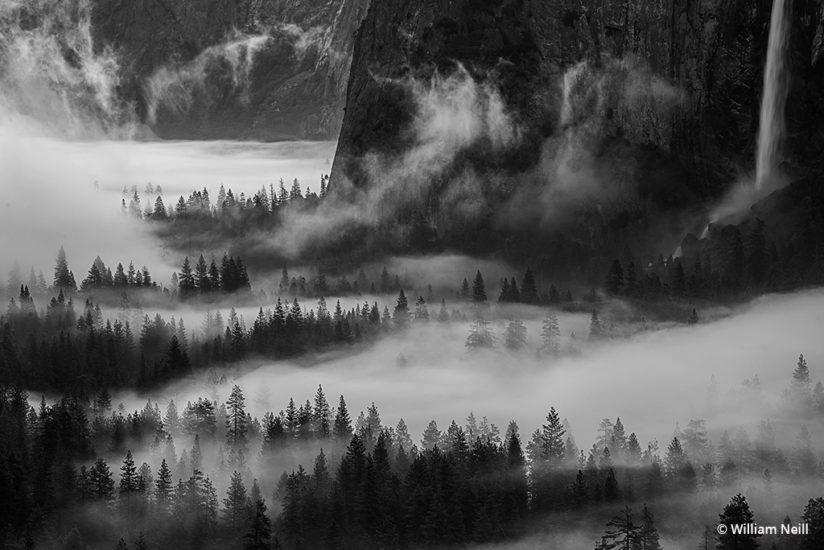 Morning mist at dawn yosemite valley yosemite national park california 2016