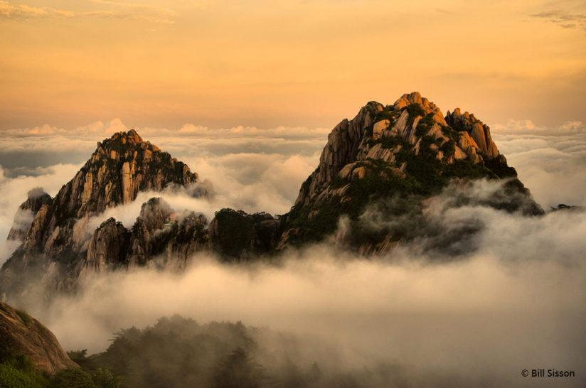 "Today's Photo Of The Day is ""Sunset Dream"" by Bill Sisson. Location: Huangshan Mountains, China."
