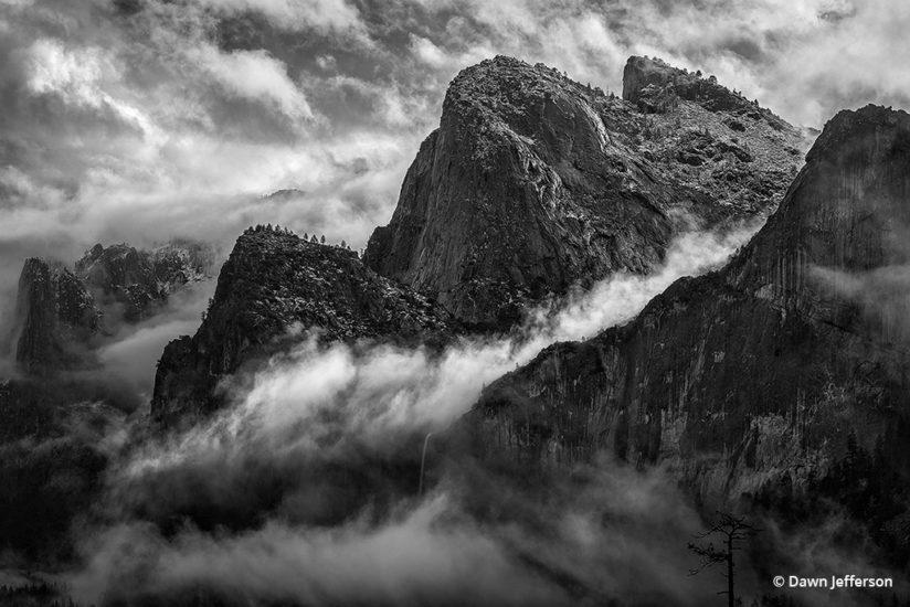 "Today's Photo Of The Day is ""Cathedral Rocks"" by Dawn Jefferson. Yosemite National Park, California."