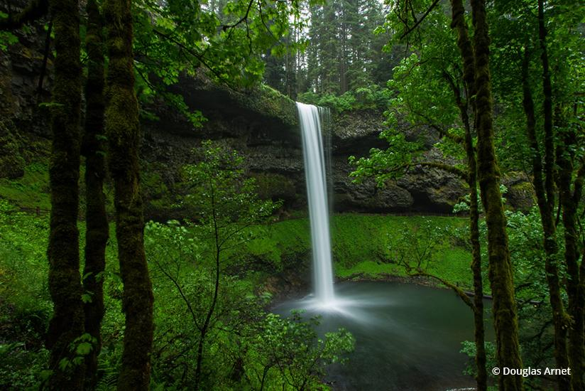 """Today's Photo Of The Day is """"South Falls"""" By Douglas Arnet. Location: Silver Falls State Park, Oregon."""