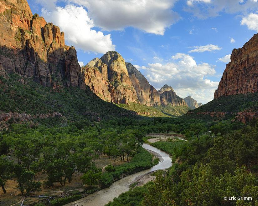"Today's Photo Of The Day is ""Zion Canyon"" by Eric Grimm. Location: Zion National Park, Utah."