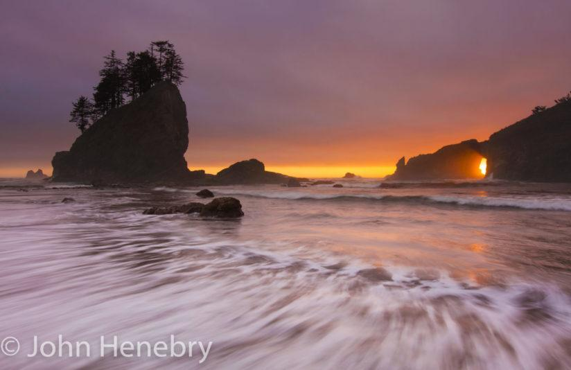 "Today's Photo Of The Day is ""2nd Beach Olympic National Park"" by John Henebry. Location: Washington."