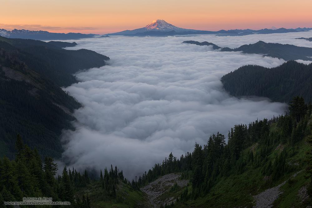 "Today's Photo Of The Day is ""Valley of Fog"" by Michael Ryan."