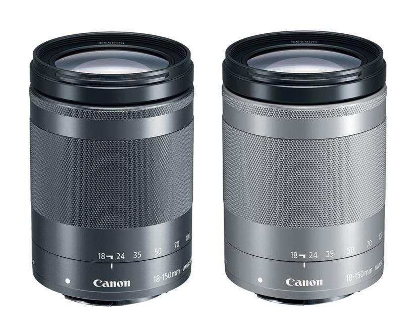 The EF-M 18-150mm f/3.5-6.3 IS STM will be offered in both graphite and silver colors.