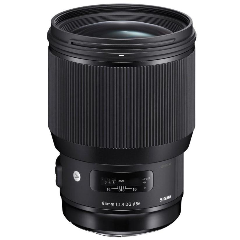 """Sigma calls the 85mm F1.4 Art, """"The Ultimate Portrait Lens,"""" and it should certainly excel here with its fast max aperture and 9-blade rounded diaphragm."""