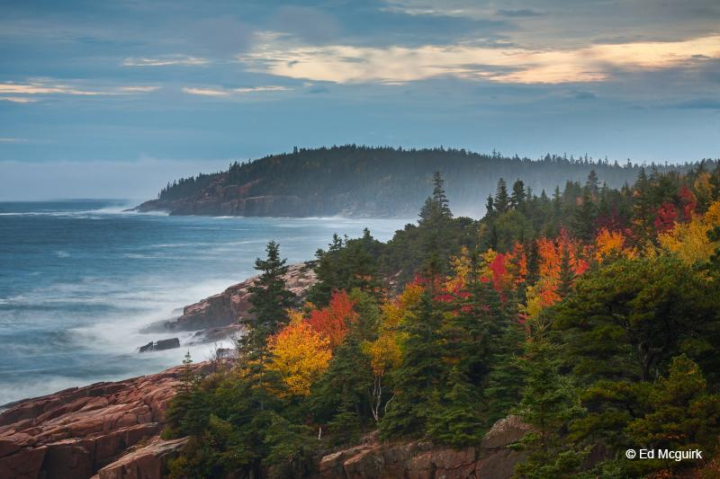 "Today's Photo Of The Day is ""Acadia In Autumn"" by Ed Mcguirk. Location: Acadia National Park, Maine."