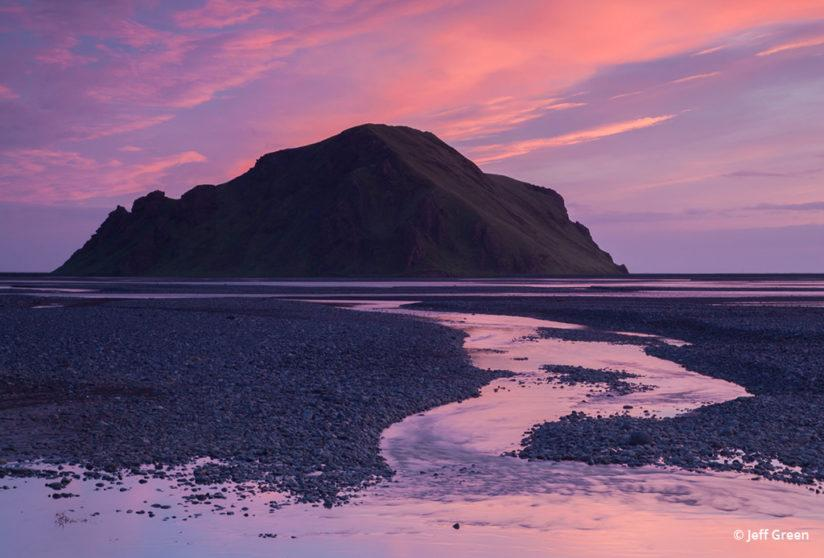 Today's Photo Of The Day is Midnight in South Iceland by Jeff Green.