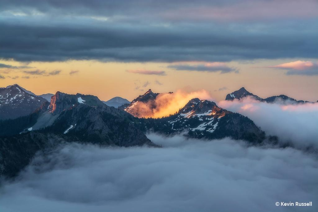 """Today's Photo Of The Day is """"Mountain Morning"""" by Kevin Russell. Location: Mount Rainier National Park, Washington."""