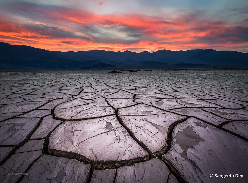 """Today's Photo Of The Day is """"Fragments of Time"""" by Sangeeta Dey. Location: Death Valley National Park, California."""
