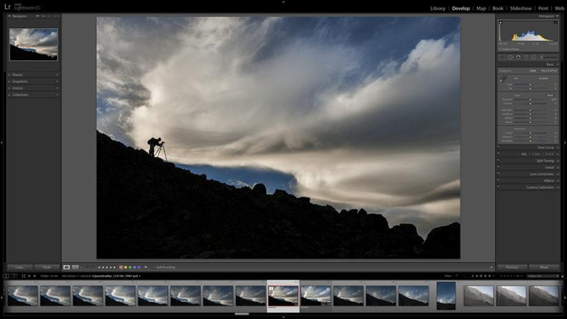 raw workflow in lightroom