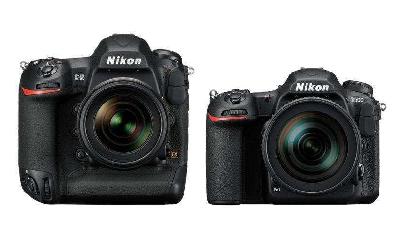 Nikon D5 and D500 use XQD cards