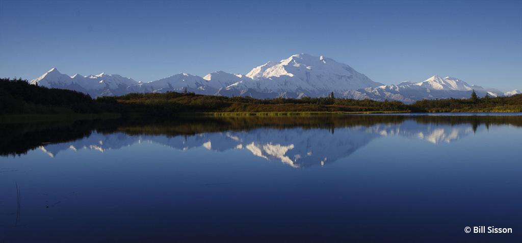 "Today's Photo Of The Day is ""Reflecting on Earth, Air and Water"" by Bill Sisson. Location: Denali National Park, Alaska."