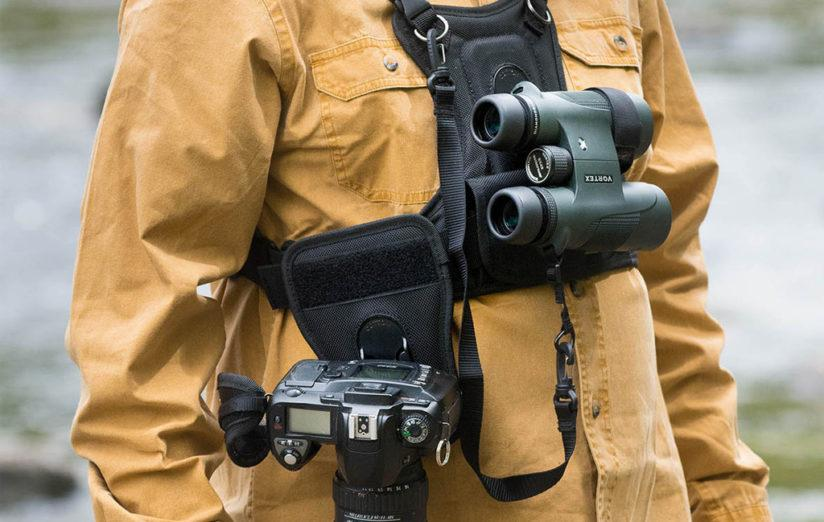 Cotton Carrier Binocular and Camera Harness
