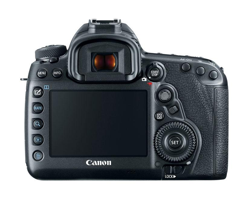 Canon EOS 5D Mark IV Review - Touchscreen LCD