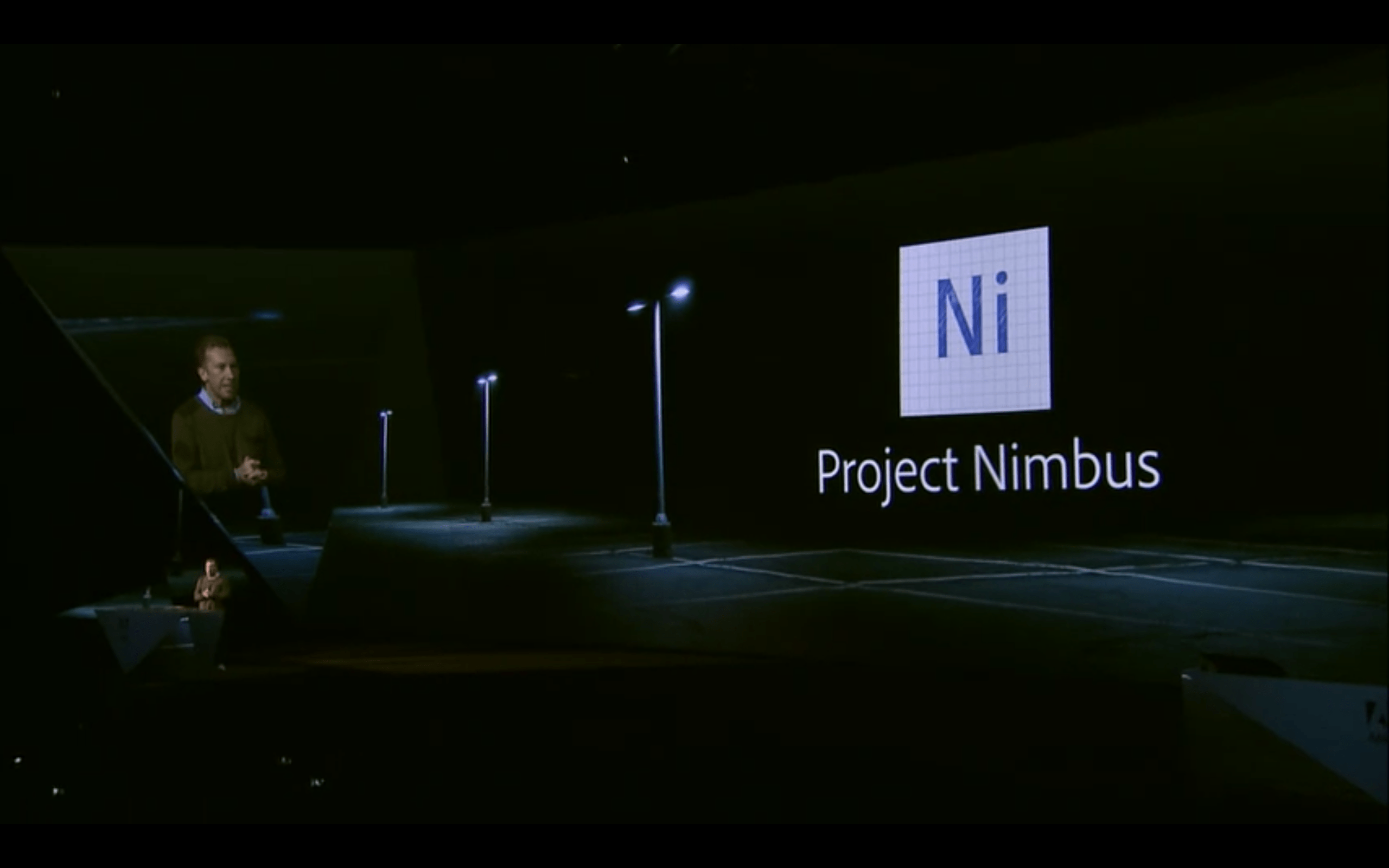 Brian O'Neil Hughes, Group Product Manager at Adobe, announces Project Nimbus