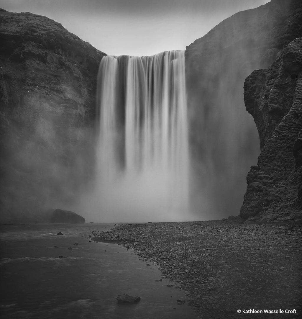 "Today's Photo Of The Day is ""A Dream"" by Kathleen Wasselle Croft. Location: Skogarfoss waterfall, Iceland."