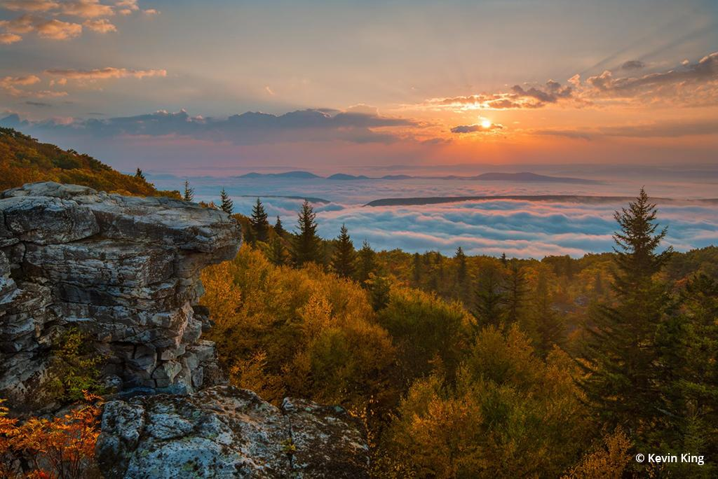 "Today's Photo Of The Day is ""New Day"" by Kevin King. Location: Dolly Sods Wilderness Area, West Virginia."