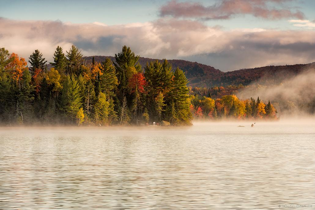 "Today's Photo Of The Day is ""Morning Fog in Lake Superieur, Quebec"" by Richard Cavalleri."