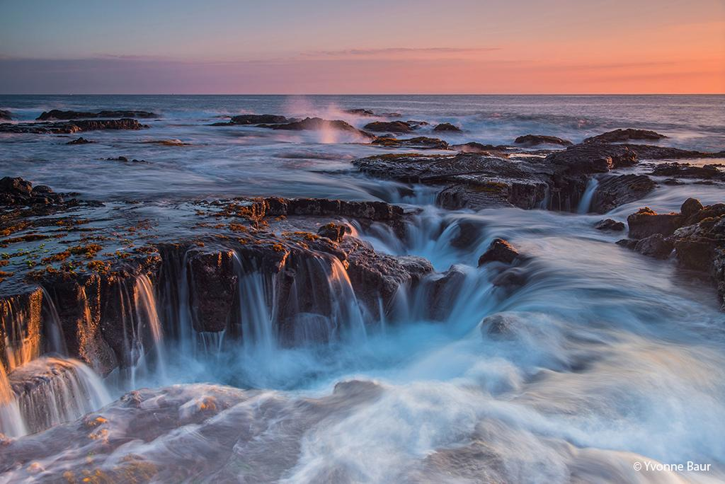 Today's Photo Of The Day is Kona Coast Sunset by Yvonne Baur. Location: Kona, Hawaii.