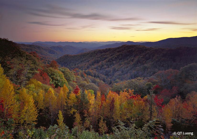 National Parks Fall Foliage Great Smoky Mountains