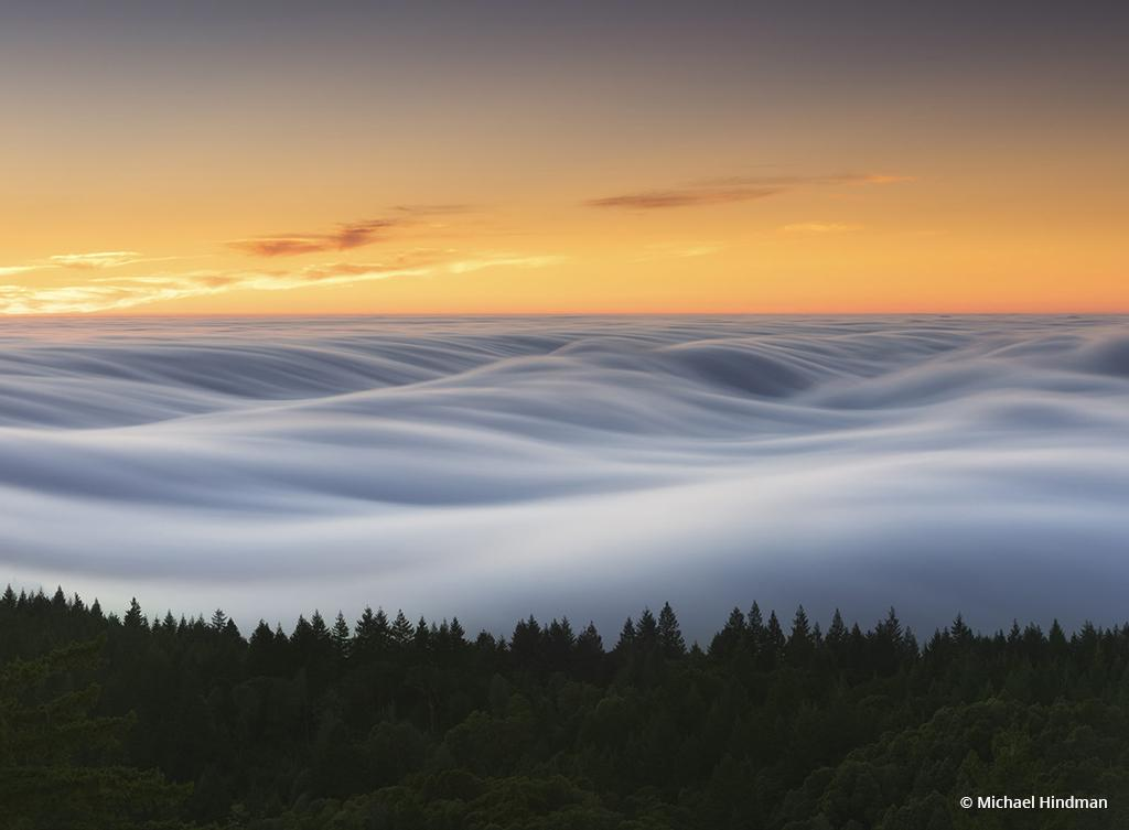 "Congratulations to Michael Hindman for winning the recent In A Fog photo assignment with his image, ""Flow Love,"" which was taken at Mount Tamalpais."