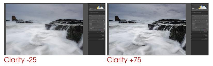 RAW Workflow Clarity Adjustment