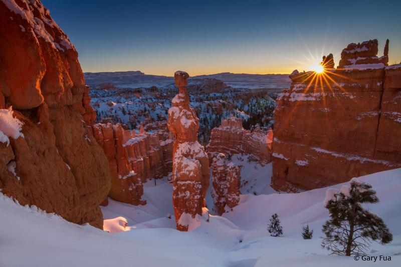 """Today's Photo Of The Day is """"Allegory"""" by Gary Fua. Location: Thor's Hammer, Bryce Canyon National Park, Utah."""