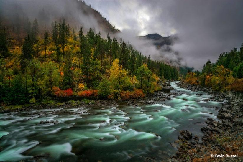 Congratulations to Kevin Russell for winning the recent Fall Colors Assignment with his image, Fall on the Wenatchee.