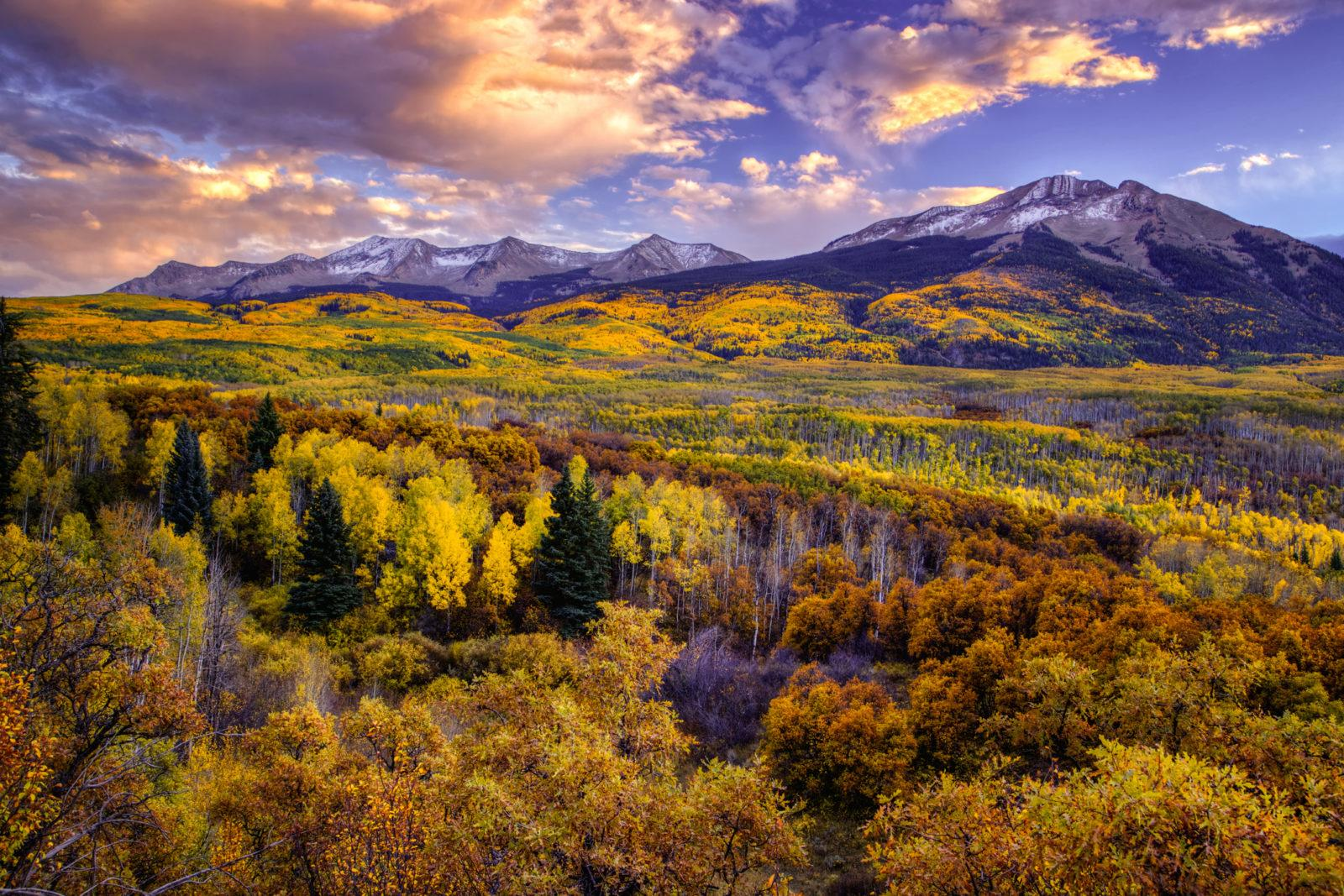 Today's Photo Of The Day is Fall Symphony by Wendy Gedack. Location: Crested Butte, Colorado.