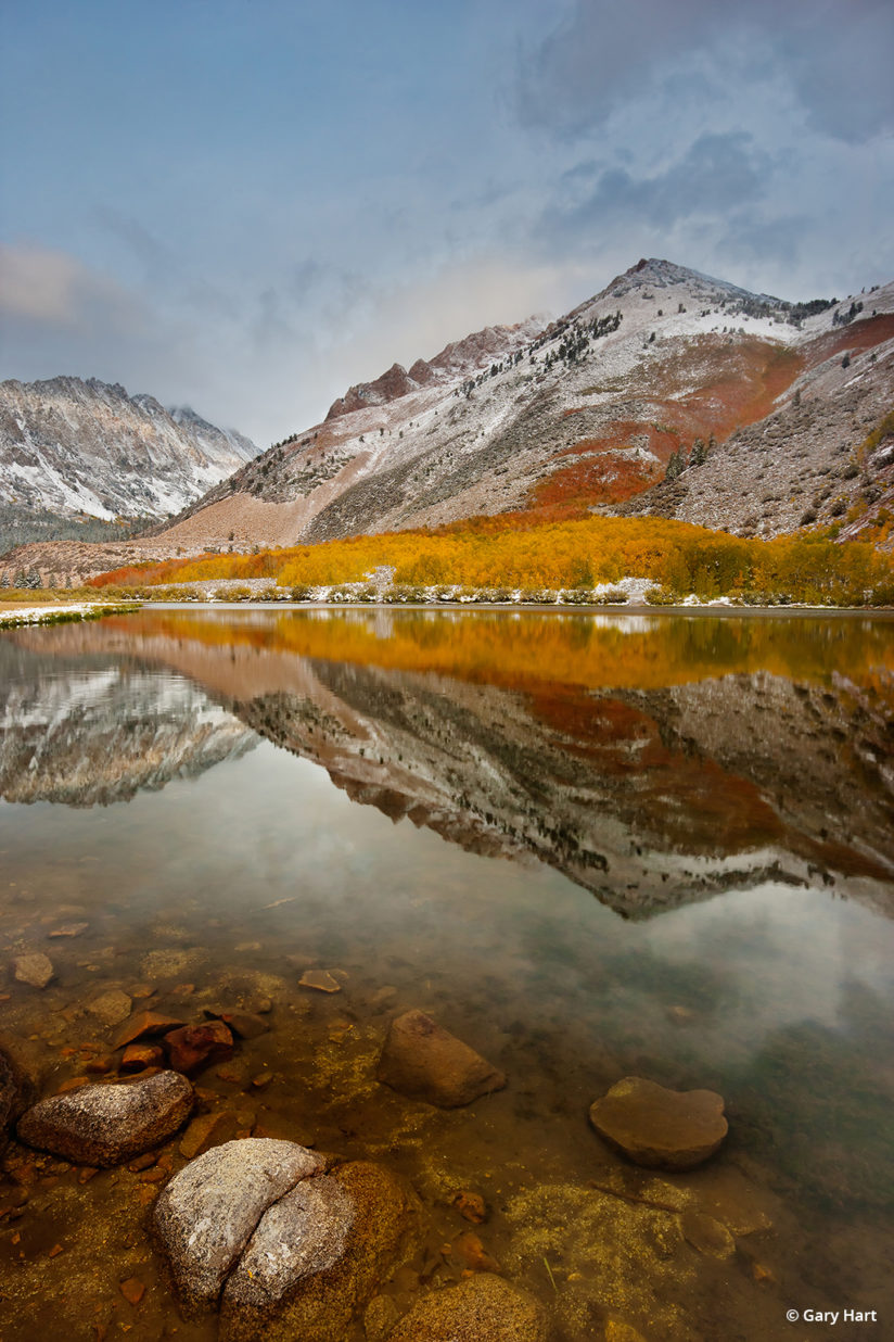 California's Eastern Sierra - Autumn Reflection, North Lake.