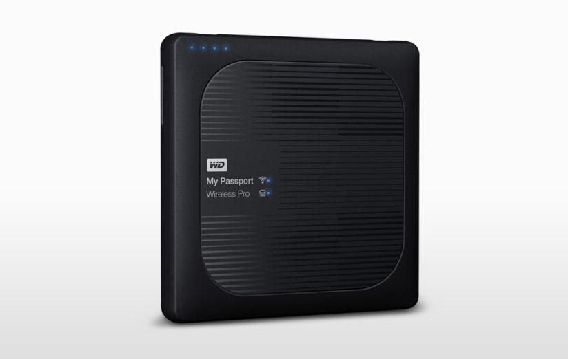 Editors' Picks 2016, Best Portable Storage Device: Western Digital My Passport Wireless Pro