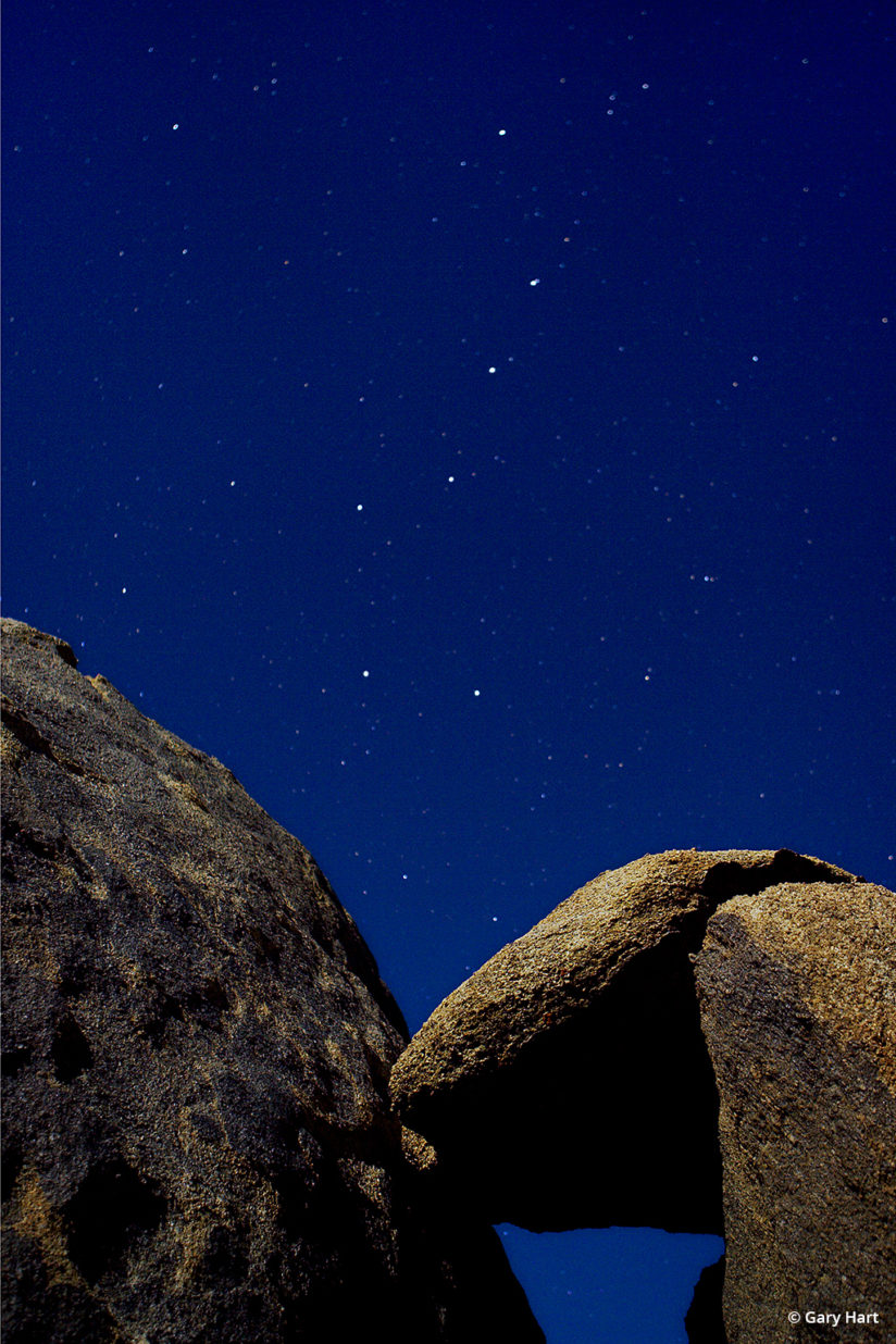 California's Eastern Sierra - Big Dipper, Alabama Hills.