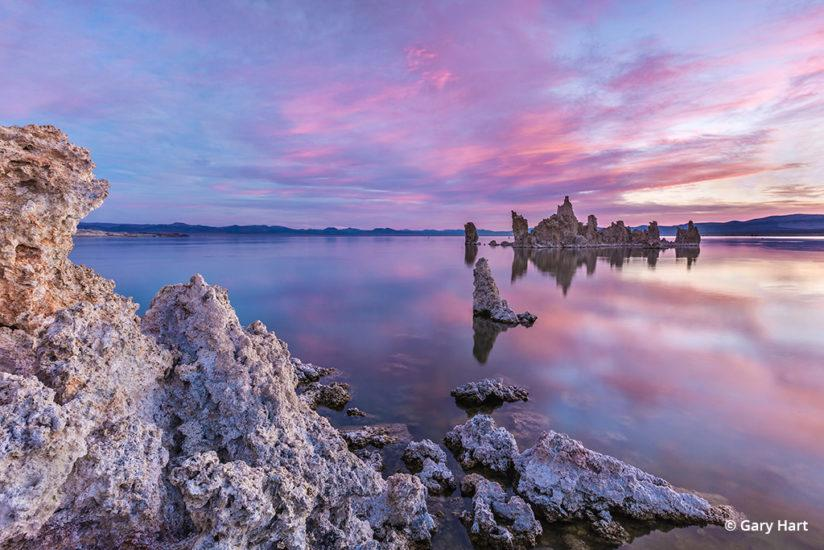 California's Eastern Sierra - Sunrise, Mono Lake, South Tufa