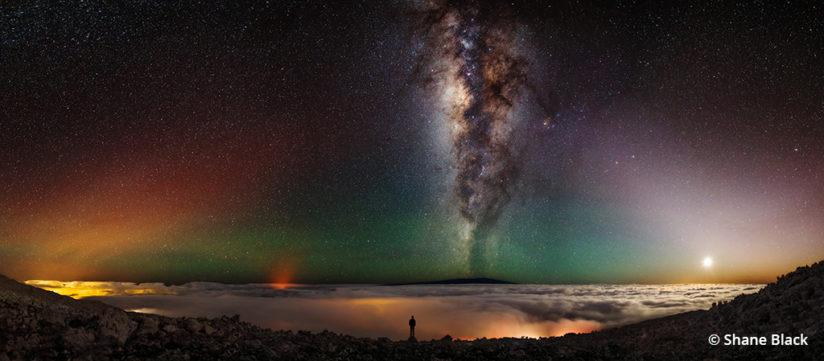 Night time-lapse photography - Mauna Kea