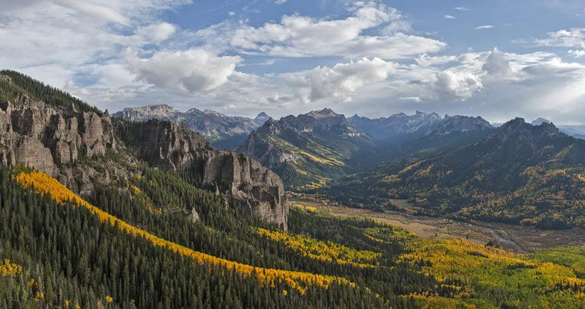 Colorado Fall Color - Uncompahgre Wilderness