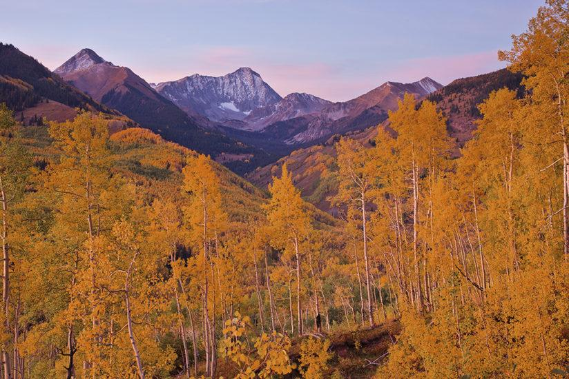 Colorado Fall Color - Snowmass Wilderness