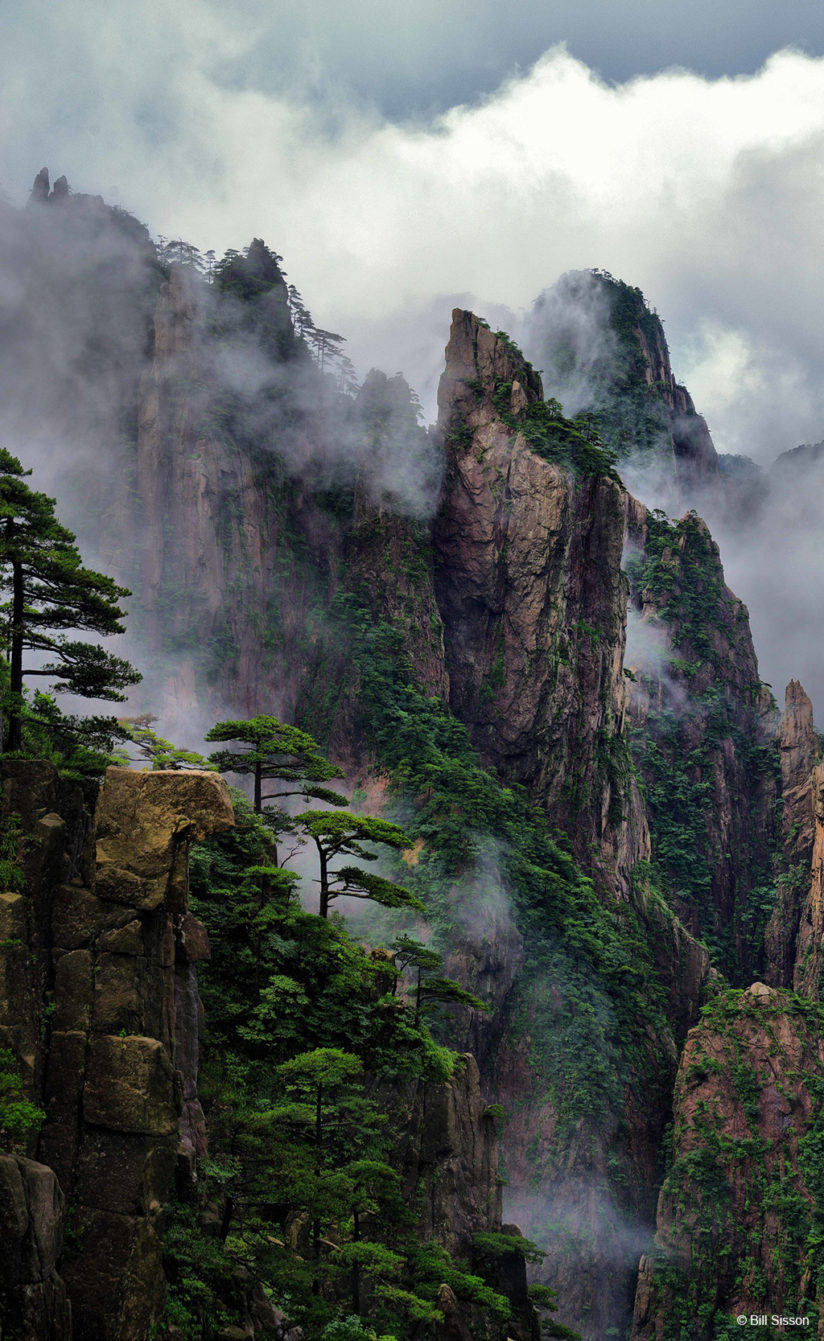 Today's Photo Of The Day is Huangshan Mountains by Bill Sisson. Location: Huangshan Mountains, China.