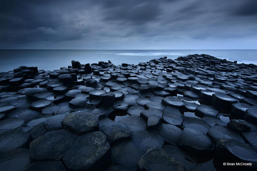 "Today's Photo Of The Day is ""The Dark Causeway"" by Brian McCready. Location: Giant's Causeway, Northern Ireland."