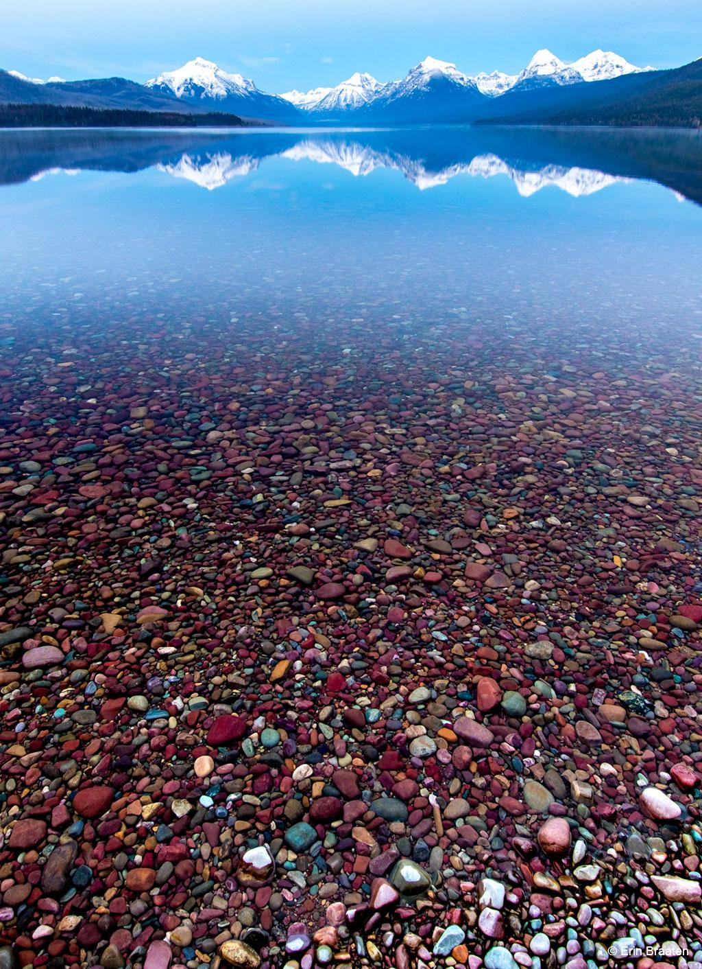 Today's Photo Of The Day is Lake McDonald by Erin Braaten. Location: Glacier National Park, Montana.