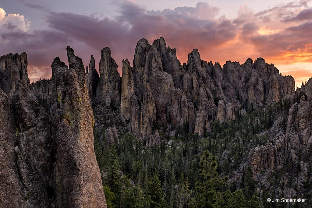"Today's Photo Of The Day is ""The Needles"" by Jim Shoemaker. Location: Custer State Park, South Dakota."