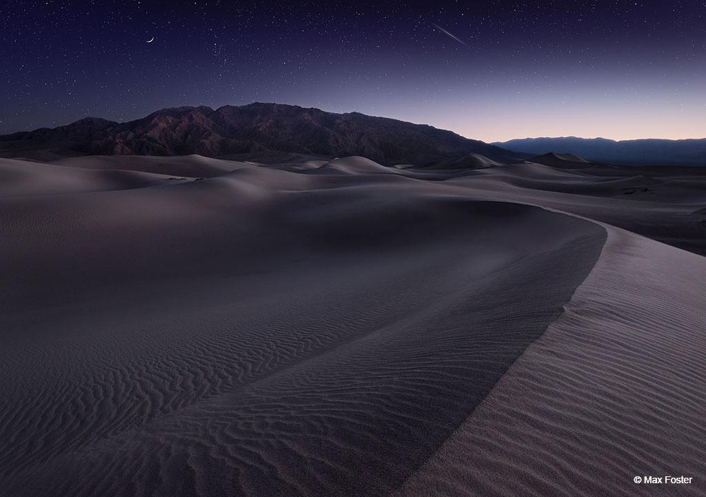 """Today's Photo Of The Day is """"Alien Landscape"""" by Max Foster. Location: Mesquite Flat Sand Dunes, Death Valley, CA."""
