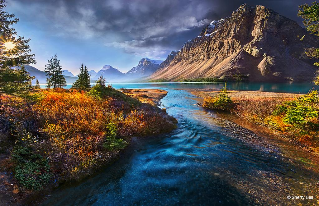 "Today's Photo Of The Day is ""My Nirvana"" by Sherry Bell. Location: Banff National Park, Alberta, Canada."