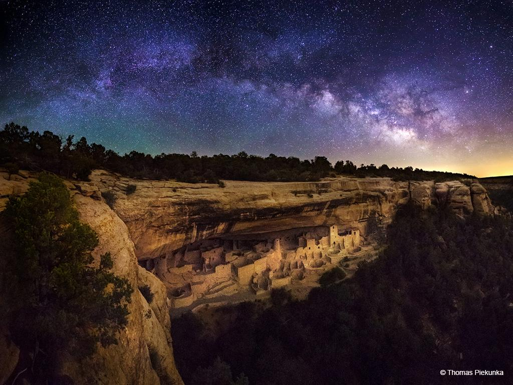 "Today's Photo Of The Day is ""Celestial Palace"" by Thomas Piekunka. Location: Mesa Verde National Park, Colorado."