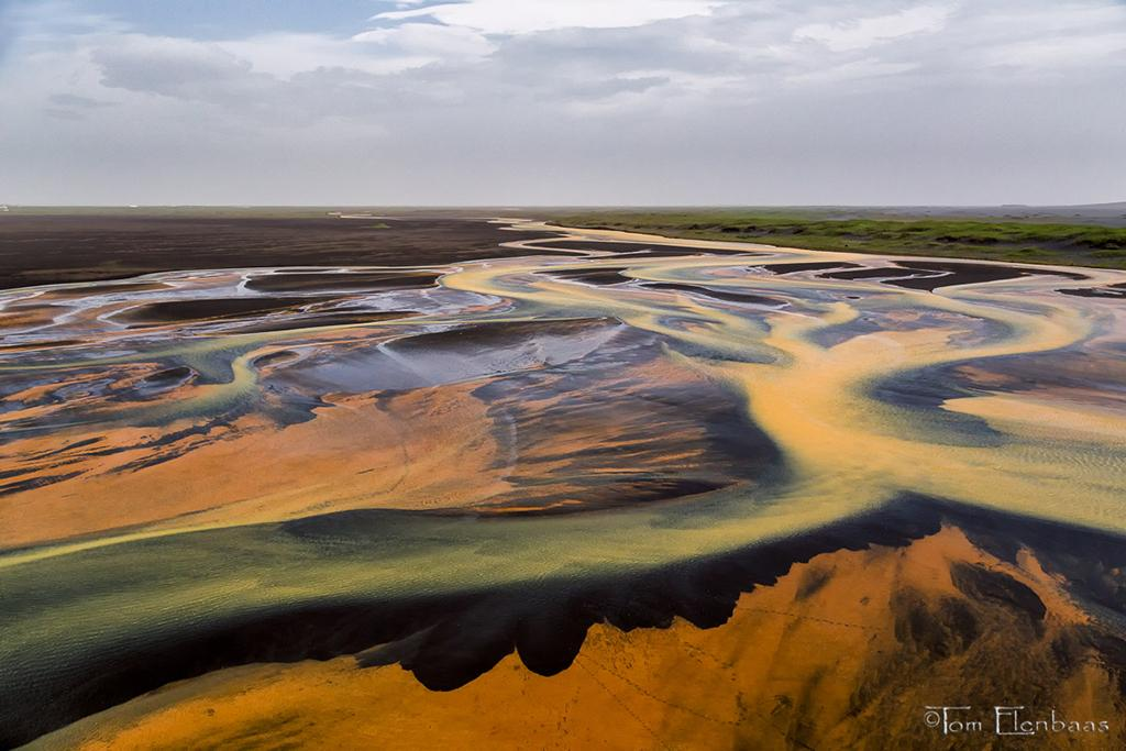 Today's Photo Of The Day is Þjórsá River Delta By Tom Elenbaas. Location: Southern Iceland