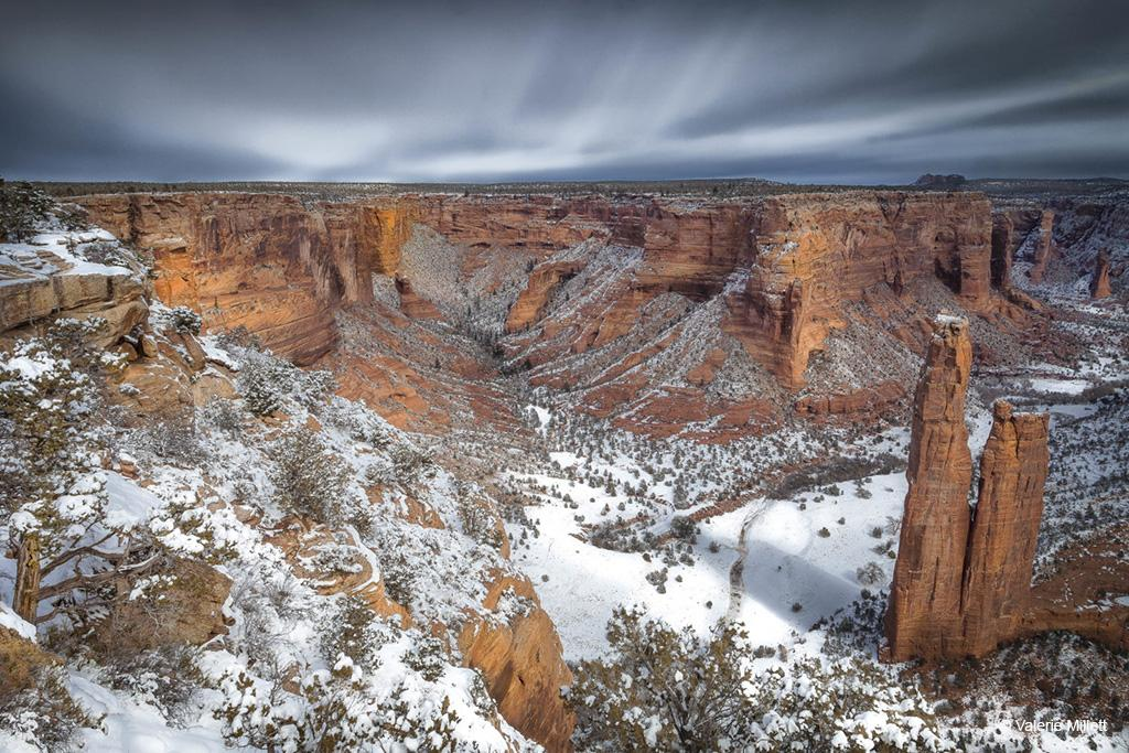 Today's Photo Of The Day is Canyon de Chelly II by Valerie Millett. Location: Canyon de Chelly National Monument, Arizona.