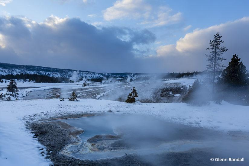 Yellowstone In Winter © Glenn Randall