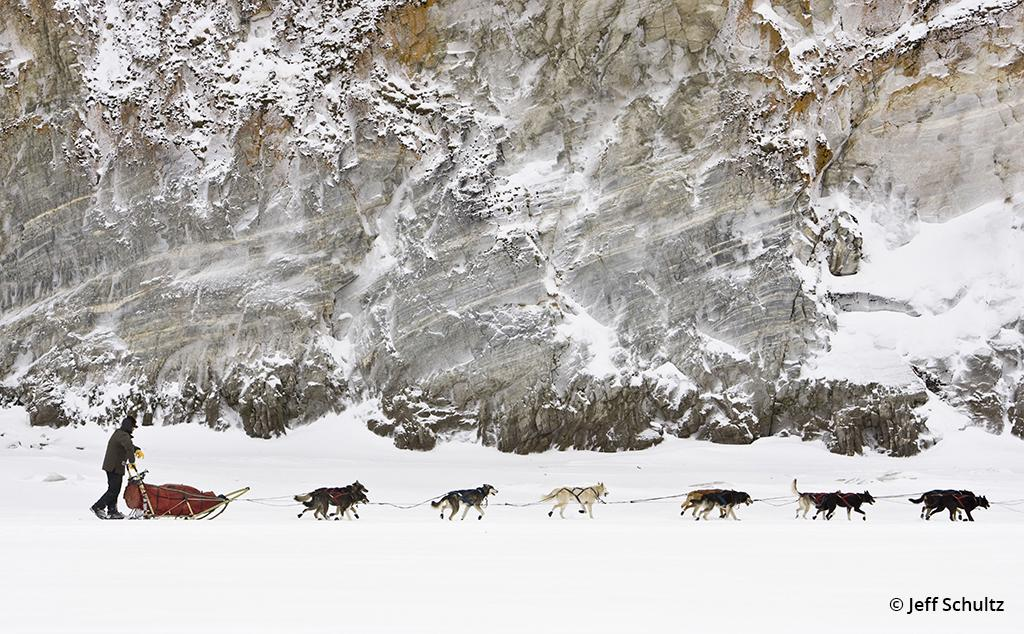 Four-time Iditarod champion Lance Mackey by Jeff Schultz
