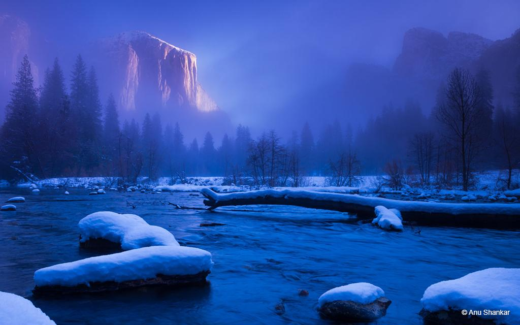 Today's Photo Of The Day is El Capitan by Anu Shankar. Location: California.