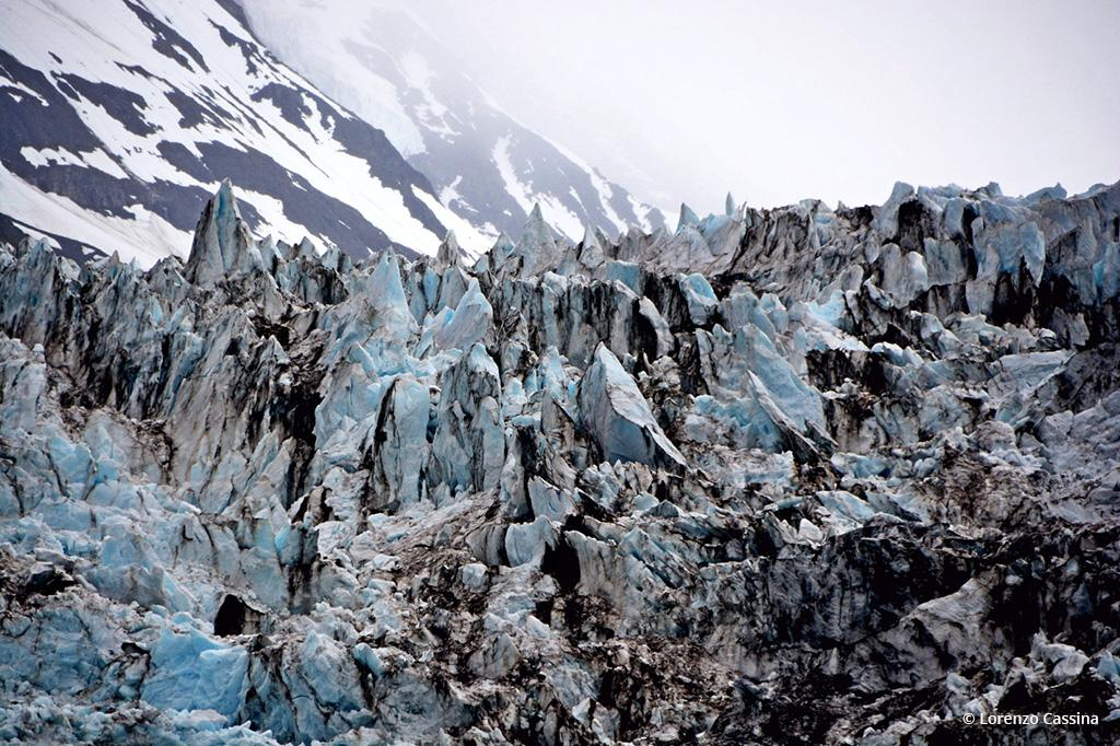 Today's Photo Of The Day is Glaciers Closeup by Lorenzo Cassina. Location: Alaska.